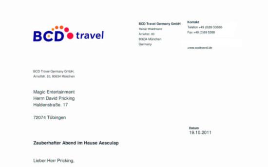 BCD-Travel Mitarbeiterevent