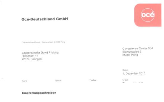 Océ-Deutschland GmbH
