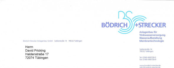 Jubiläum von Bödrich & Strecker