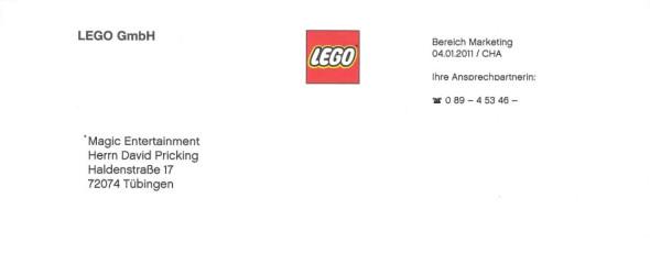 Weihnachtsfeier bei Lego GmbH