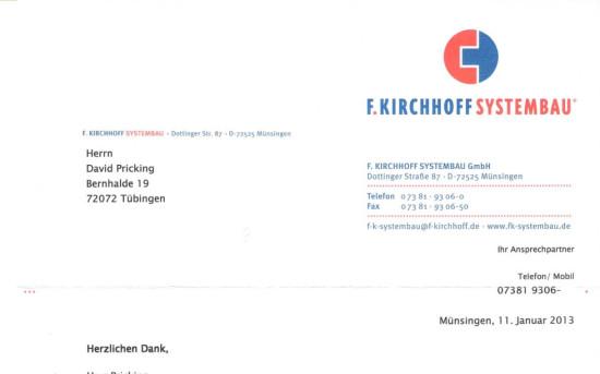 Weihnachtsevent F.Kirchhoff Systembau GmbH