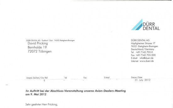 Asian-Dealers-Meeting von Dürr Dental